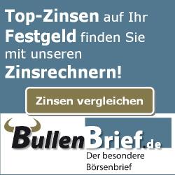 Zinsrechner für Festgeld - Top-Zinsen auf Festgeldkonten!